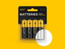 Battery Packging Mockup