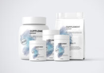 protein branding mockup